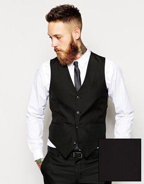 ASOS+Slim+Fit+Waistcoat