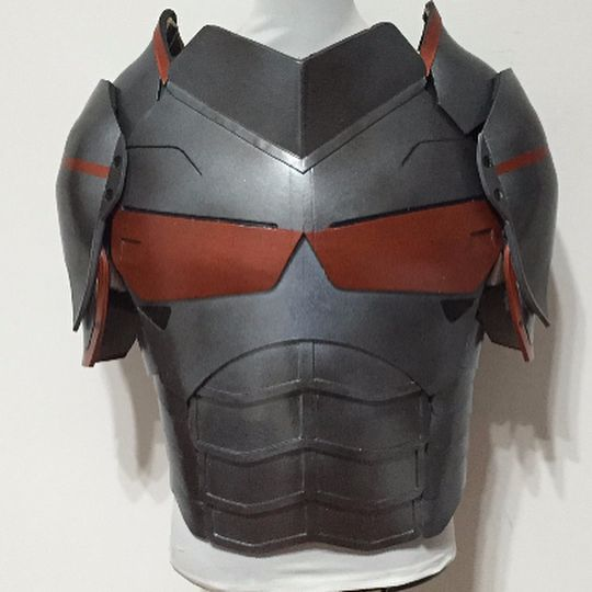 This is a custom made Deathstroke armor from DC comics. It is mostly made from EVA. Please email me at cosplaymandy@gmail.com Follow me on Facebook https://www.facebook.com/pages/Cosplaymandy-commission/796902850375905?ref=aymt_homepage_panel #deathstroke #dccomics #cosplay #costume #deathstrokearmor #armor #armorcosplay #armorcostume #deathstrokecosplay #deathstrokecostume #evaarmor #dccomicscosplay #dccomicscostume