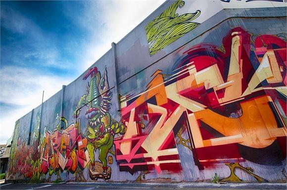 Graphite Crew Mural