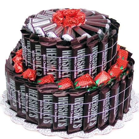 Hersheys Candy Bar Cake | Candies and Desserts | Arttowngifts.com