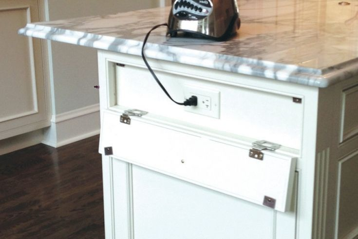 Simple Kitchen Island With Electrical Outlet Beautiful Kitchens Simple Kitchen Kitchen