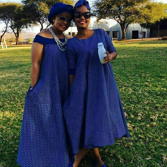Vintage Wedding Dresses For Sale South Africa: 40+ Lesotho ShweShwe Dresses 2019 You Must Love In 2019