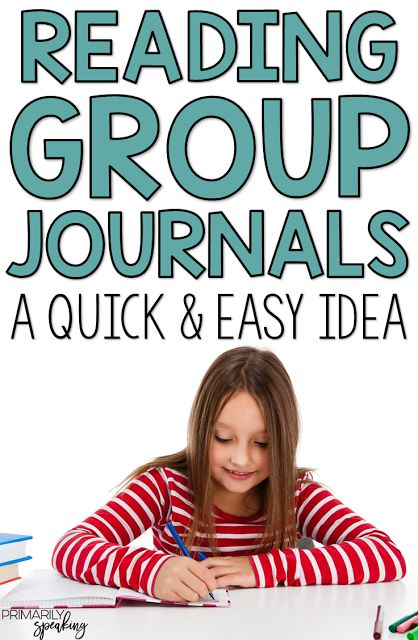 READING GROUP JOURNALS {A QUICK & EASY IDEA}