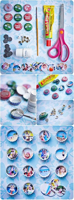 How To on bottle cap pins