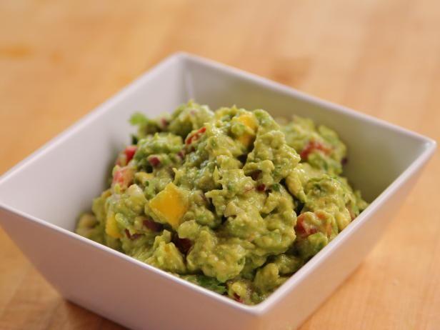 Get Mango Guacamole Recipe from Food Network