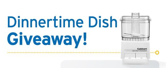 Physicians Mutual Dinnertime Dish Giveaway