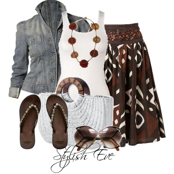 """Noha"" by stylisheve on Polyvore - maybe a cardigan in place of the jacket?"