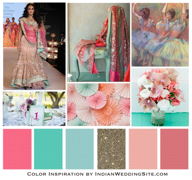 42 best indian wedding color palettes images on pinterest