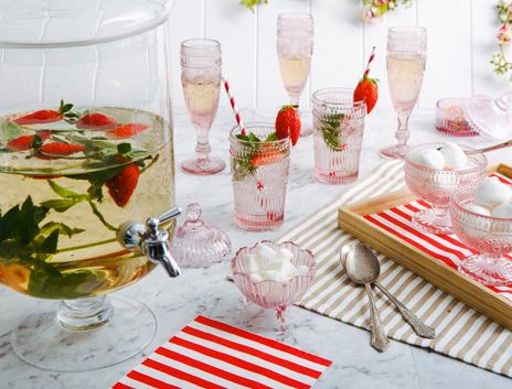 Sparkling Glassware to Entertain  Delight on THEHOME.COM.AU