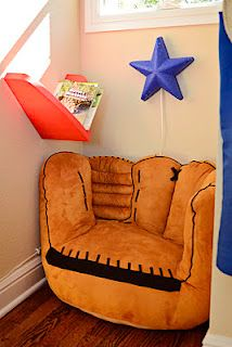 Baseball Chair For A Boyu0027s Room