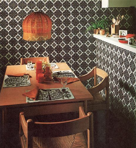 70s kitchen 4 | vico magistretti chairs, so typical of the t… | Flickr