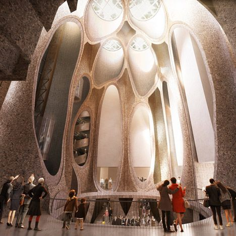 Heatherwick unveils gallery inside grain silos for Cape Town's V&A Waterfront