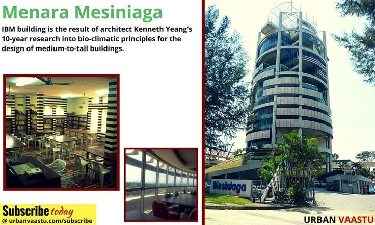 The Menara Mesiniaga, Often Referred To As The IBM Building
