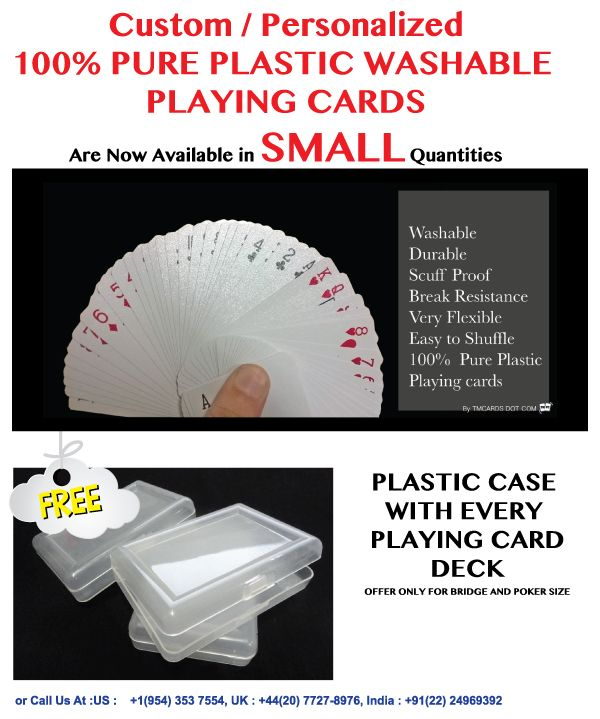 Make Custom Playing Cards Part - 22: Now You Can Make Just 1 Deck Of 100% Pure Plastic Custom Playing Cards. |  100% Pure Custom Plastic Playing Cards | Pinterest | Decks, Plastic And  Custom ...