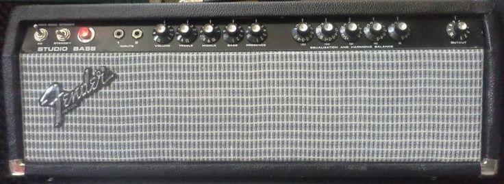 Dieser topgepflegt, handverdrahtete Sahne-Bass-Verstärker in USA (220Volt) für Europa gebaut ist...,Fender  Vollröhren Bass-Amp. 200 Watt  USA handverdrahtet. in Hannover - Döhren-Wülfel