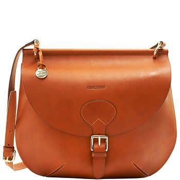 Dooney & Bourke Alto large bubble cross body bag in saddle from dooney.com
