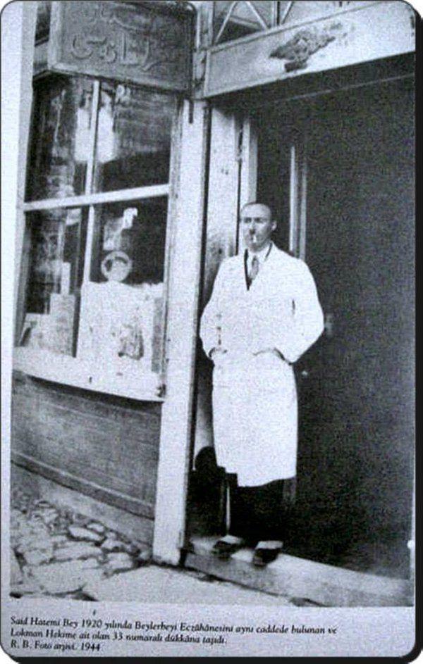 Eczacı Said Hatemi-1920 (Beylerbeyi)