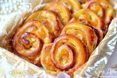 Изумительные ванильные французские булочки (Pain aux raisins). Эти булочки, благодаря заварному ванильному крему, получаются очень нежными и вкусными, приятного вам чаепития! #едимдома #готовимдома #выпечка #булочки #рецепты #кулинария #вкусно #кчаю #домашняяеда