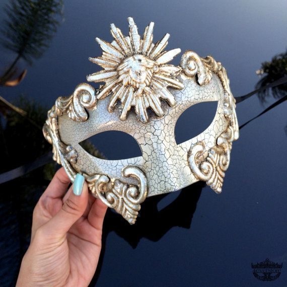 Roman Mask, Mens Masquerade Mask, Roman God Mask, Greek God Toga Party Costume, Phantom of the Opera Venetian Masquerade Mask