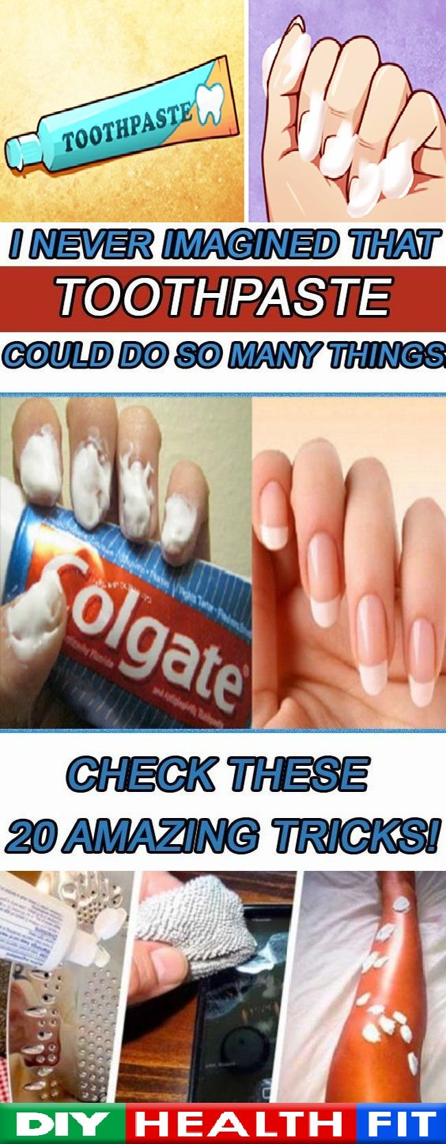 Did you know that toothpaste can help you do so much more than just cleaning your teeth? Continue reading the article below to learn 20 amazing toothpaste tricks! Silver polish Silver cleaning costs a lot, but you should know that you can clean your tarnished silver items safely with toothpaste. Just rub some […]