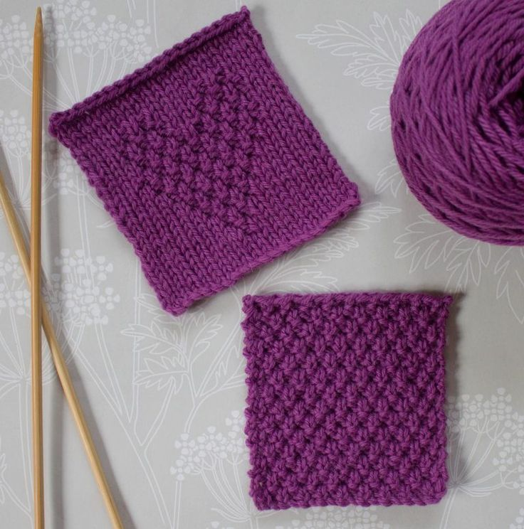 Double Moss Stitch Knitting In The Round : Best wool images on pinterest knitting patterns