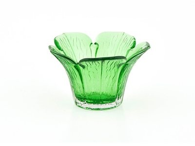 Add some colour and light to any room with this Flower T/Lite Holder in #LIME colour