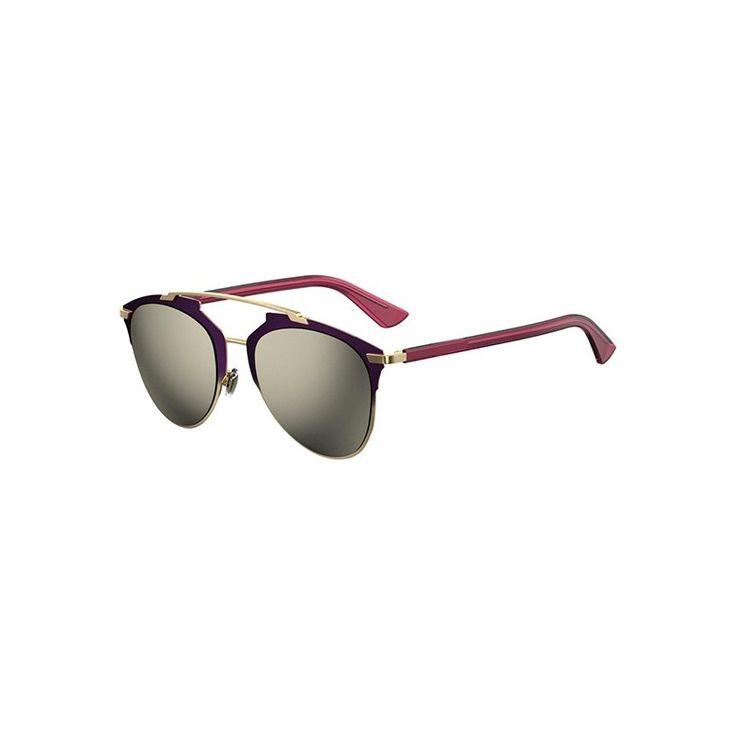 Gafas de Sol DIOR REFLECTED Purple shaded gold fuchsia - Grey gold