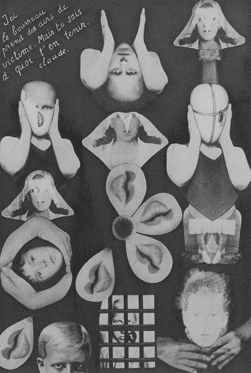 Claude Cahun, Confessions , 1930