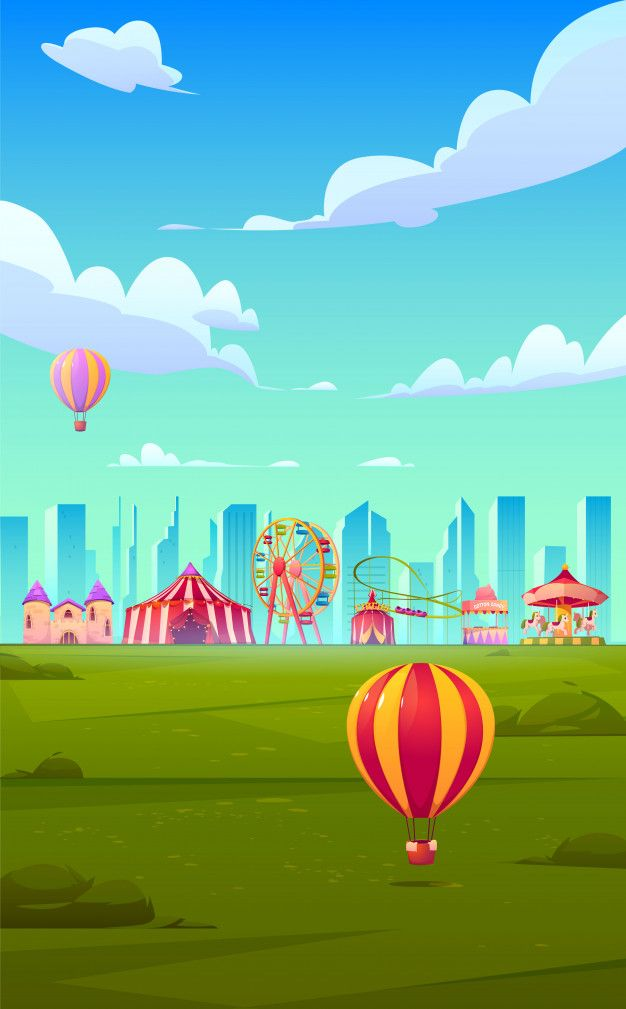 Download Smartphone Background Theme With Carnival Funfair For Free Smartphone Art Cute Cartoon Wallpapers Cartoon Background