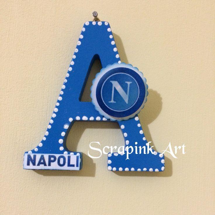 Lettera decorata❤️ #Napoli #legno #fattoamano #amico #compleanno #decorata #comunione #scrapbooking #bigshot #fustelle #acrilico #bomboniere #evento #festa