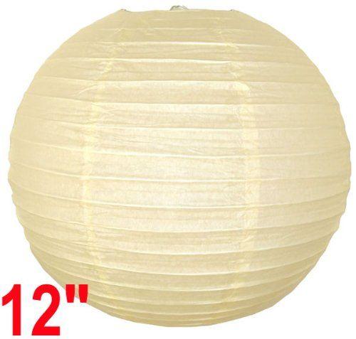 "Ivory Chinese/Japanese Paper Lantern/Lamp 12"" Diameter - Just Artifacts Brand Just Artifacts,http://www.amazon.com/dp/B002X3I7YS/ref=cm_sw_r_pi_dp_26E6sb1544JRV2VD"