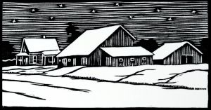 """Winter Night,"" Lennis Moore"