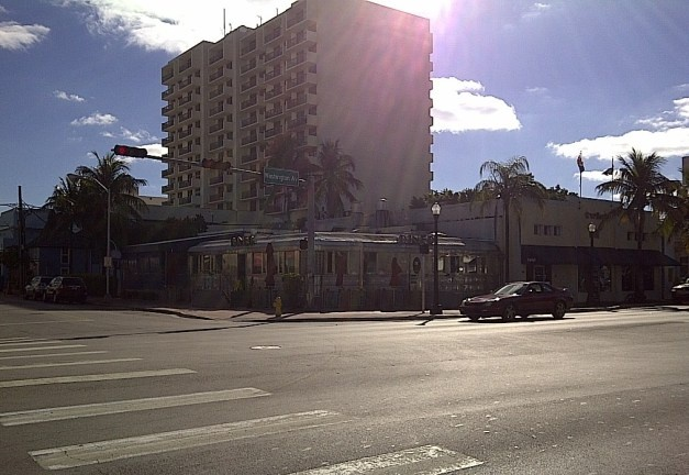 Finding little gems in Miami...South beach...11th Street Diner #PotentialistCanada