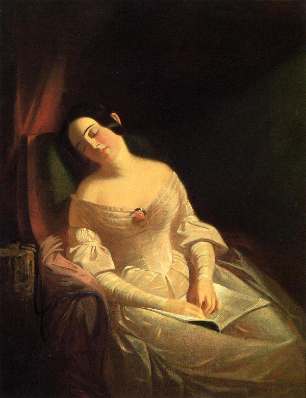 Pietro Rotari (1707-1762), Ragazza che dorme