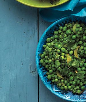 Get the recipe for Spiced Peas With Cilantro and Lime. | See