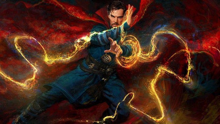 Doctor Strange Magic Movie Art 2016 Wallpaper