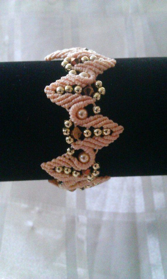 macrame bracelet, macrame jewelry                                                                                                                                                     More