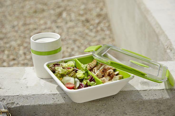 Stilvoll snacken. #emsa #emsagmbh #letsgo #bentobox #travelcup #togo #outdoor #unterwegs #essentogo #isolierbecher #lunchbox