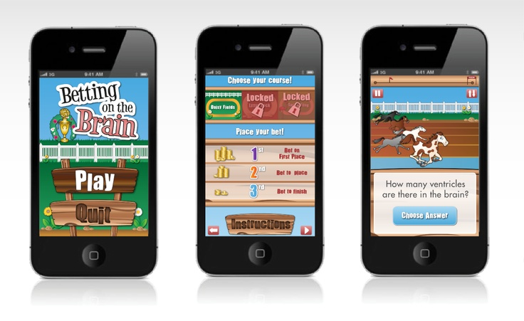 Betting on the Brain game interface design