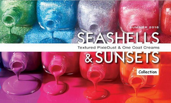 Летняя коллекция лаков для ногтей Zoya Seashells & Sunsets Nail Collection Summer 2016