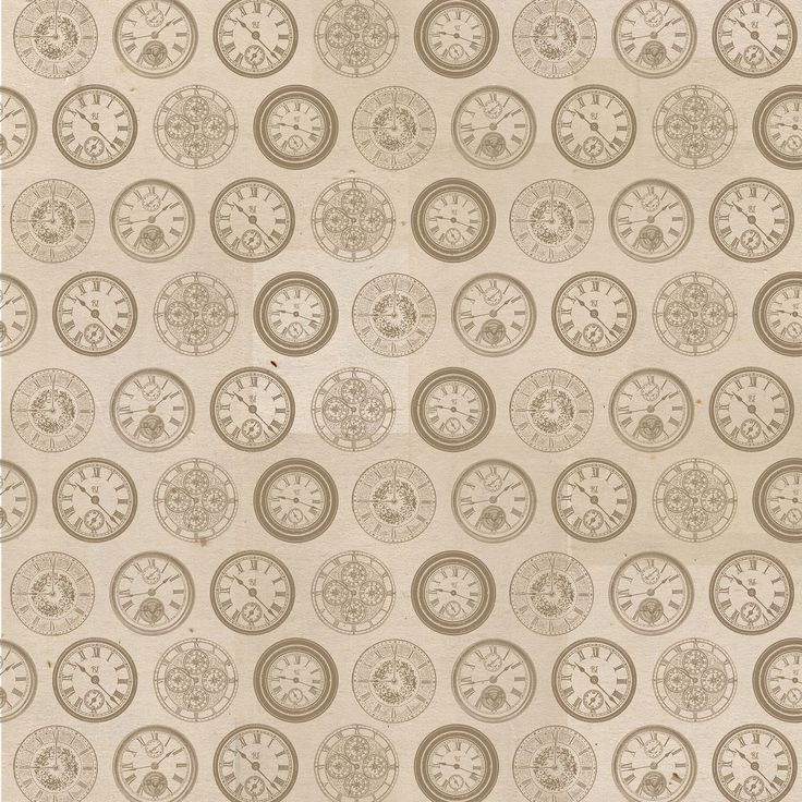Neutral Clocks Scrapbook Paper by Recollections®