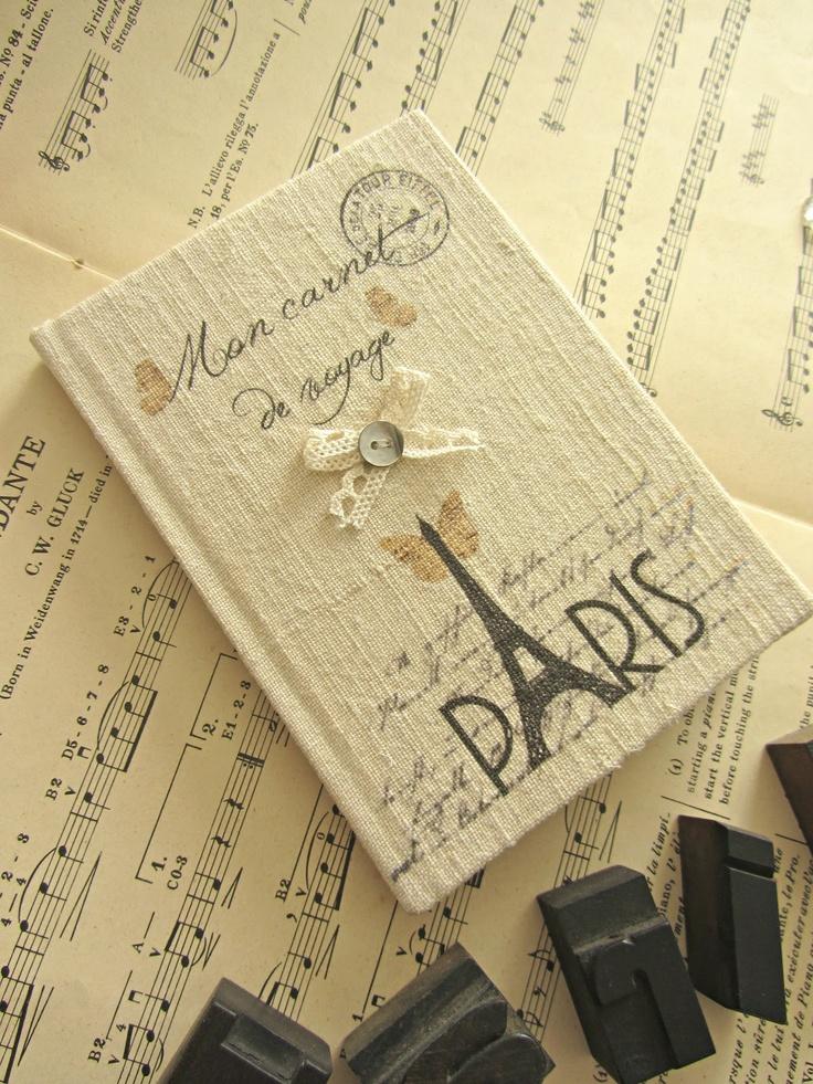 Lofficina di un sogno: quaderno rivestito in stoffa
