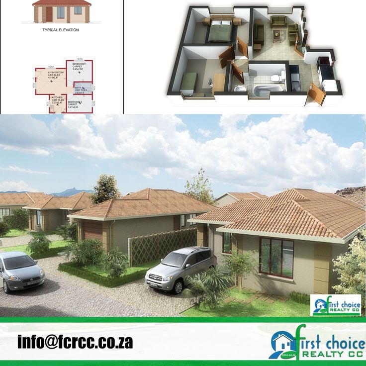 Affordable Development in Heidelberg, Gauteng. Bergsig, with various plans available in a Tuscan style. This is real affordable housing. Visit our website: http://bit.ly/1hcfKVn #Heidelberg #affordablehousing #property