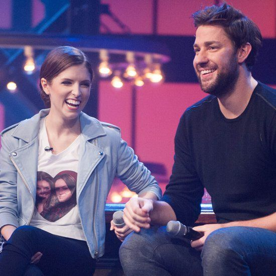 Pin for Later: Anna Kendrick Makes John Krasinski Crack Up With Her One Direction Lip Sync