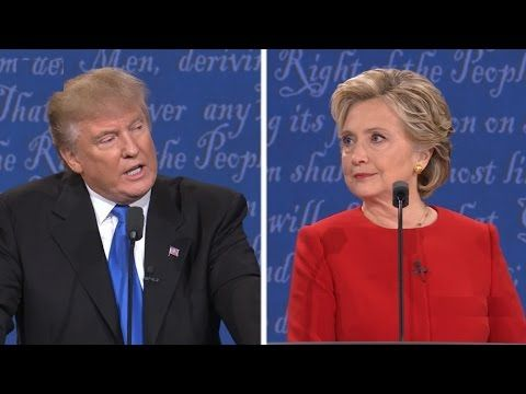Ben Shapiro: Trump and Clinton are tied. Hillary Debate Trick! The greatest political show ever - YouTube