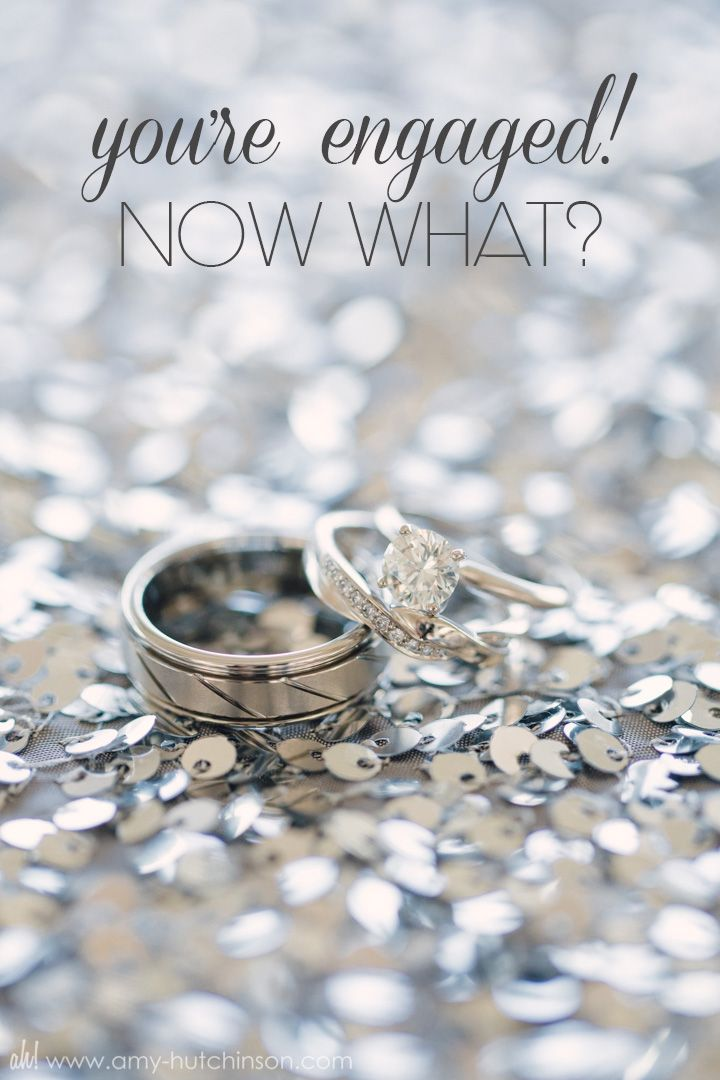 You're engaged! Now what? The top 9 things to do after you say 'yes'!