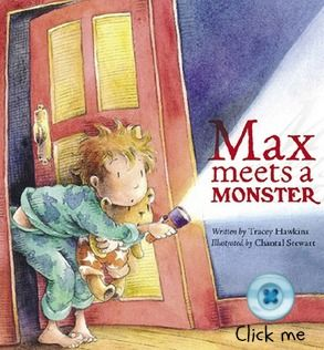 Click the button to order a copy of Max Meets a Monster. For more picture books visit www.newfrontier.com.au #kids #monster #illustration #books