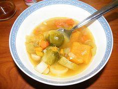 Sopa para limpiar el hígado y perder peso :: Sopa para activar el metabolismo y adelgazar