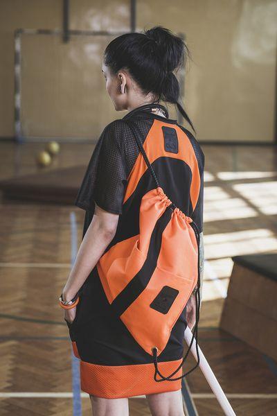 Plecak worek NEON ORANGE w CUB-WEAR na DaWanda.com