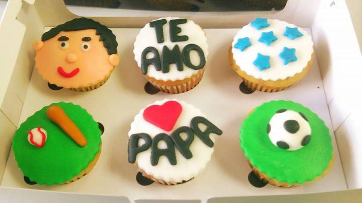 Cupcakes para el Día del Padre